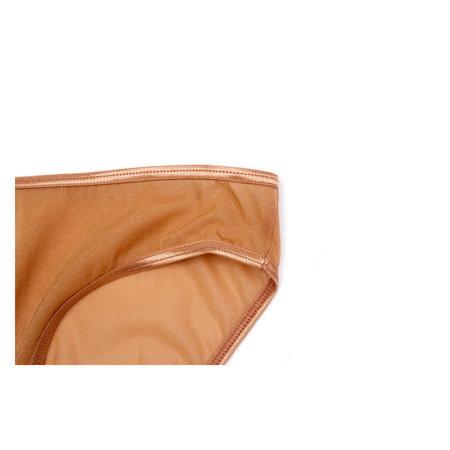 Baserange Mesh Bell Pant - Fine Gold