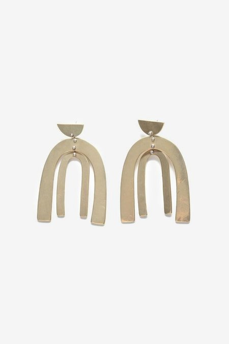 Seaworthy Belleza Earrings - Brass