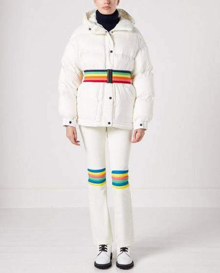 Perfect Moment Oversize Parka - Snow White