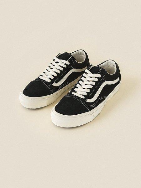 VANS VAULT OG Old Skool LX Suede/Canvas sneaker - Black/Marshmallow