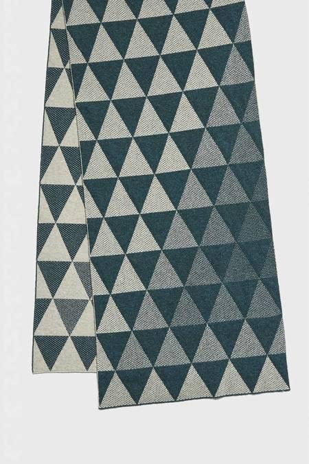 Hilary Grant Archipelago Large Triangles Scarf
