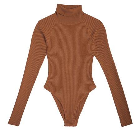 LF Markey Axel Bodysuit - Chestnut