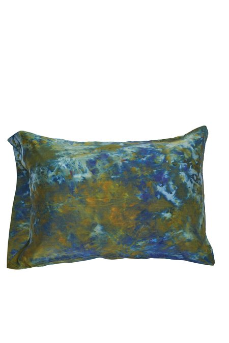 Upstate Peacock Silk Pillowcase