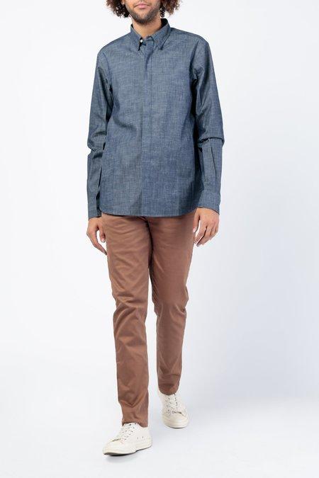 Kardo Milton Long Sleeve Shirt - Denim