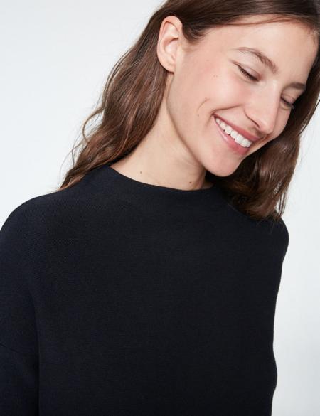 Armedangels Medine Organic Cotton Sweater - Black