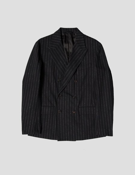 Kapatid NYC DB Jacket - Chalk Stripes
