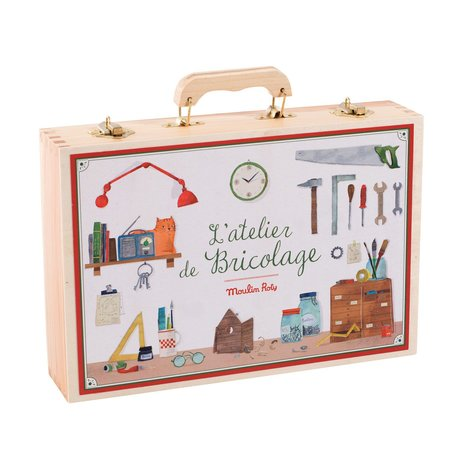 Kids Moulin Roty Large Tool Box Set