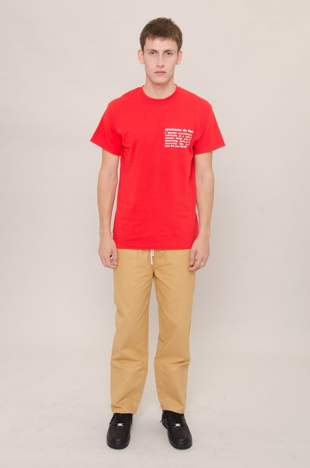 North Hill Definition Tee - Red