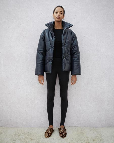 Nanushka Skylar Stretch Leggings - Black