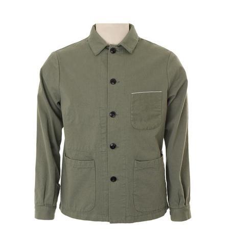 A.B.C.L. Service Selvedge Jacket - GREEN