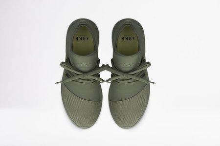 ARKK Raven Mesh Sneaker - Army/Soft Yellow
