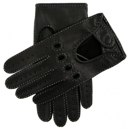 DENTS Winchester Driving Gloves - Black