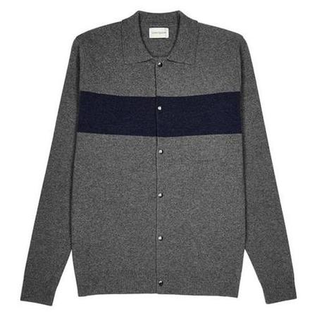 Oliver Spencer Roxwell Knitted Jacket - Grey