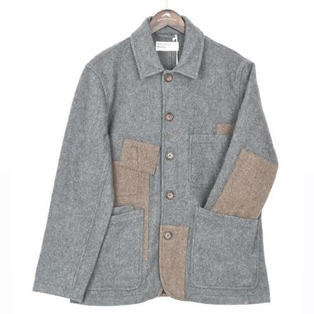 Universal Works Oversized Bakers Jacket - Patched