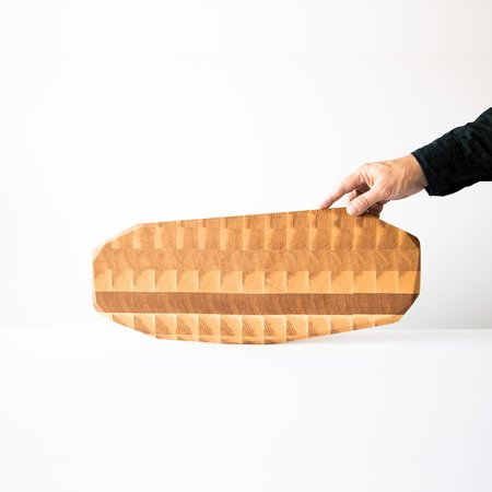 Nadine Hajjar Geo Presentation Plank - Ash Wood