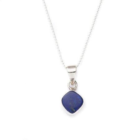 JULIA SZENDREI Jewelry Lapis Talisman Necklace