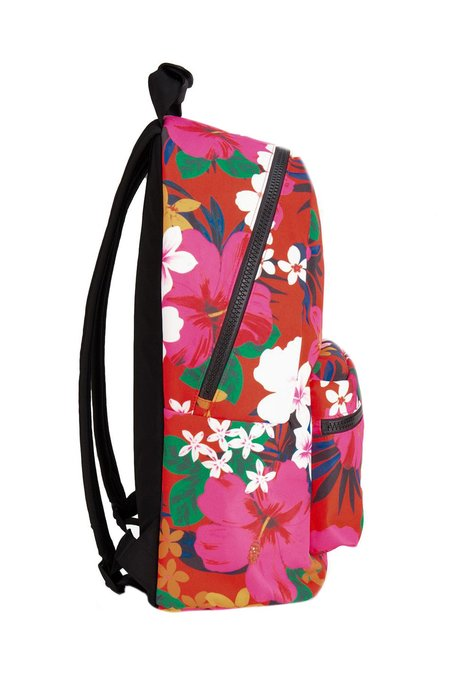 AMI Floral Zip Backpack - Multi