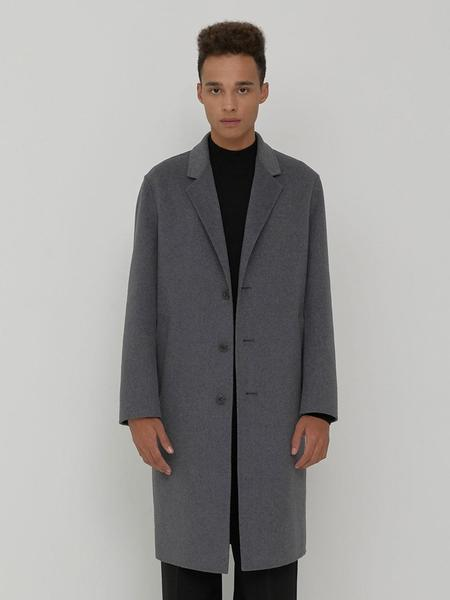CHRISCHRISTY Handmade Goosedown Coat - Grey