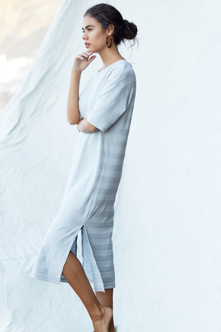 Callahan Moray Dress - Pale Blue