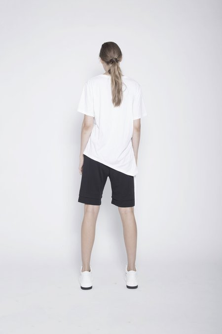 Taylor Matched Drawstring Tee - White