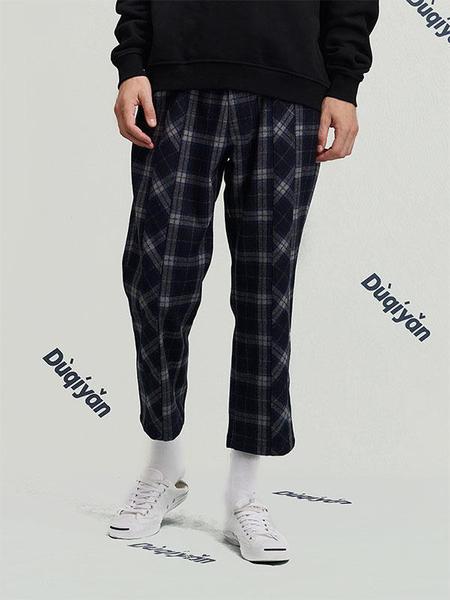 Duqiyan Leopard Series Casual Pants - Grey