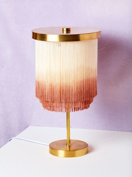 Huldra of Norway Fringe Table Lamp
