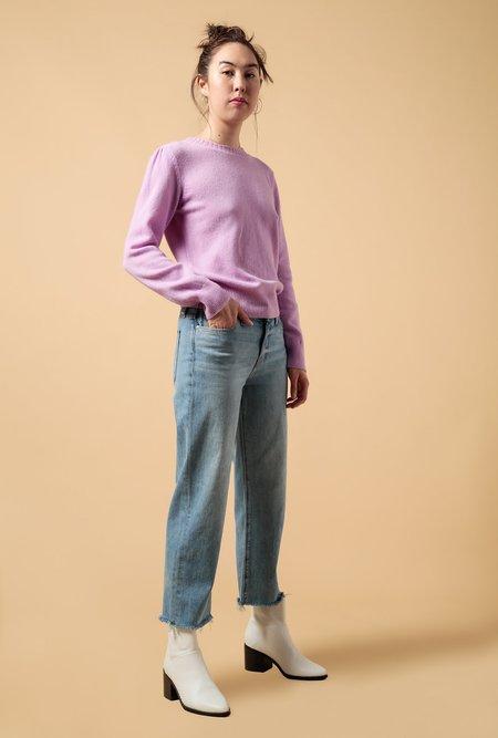Hudson Jeans Stella Midrise Crop Straight Jean - Sundried