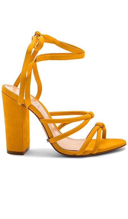 Schutz Lohanna Platform heel - yellow