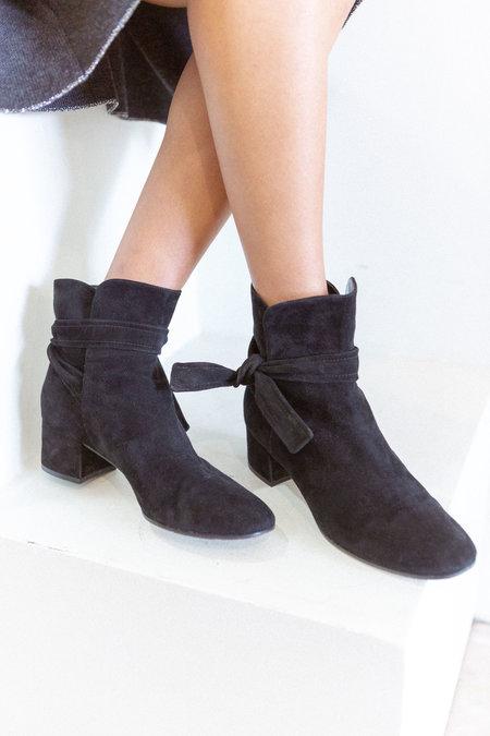 Gianvito Rossi Suede Boots - Black