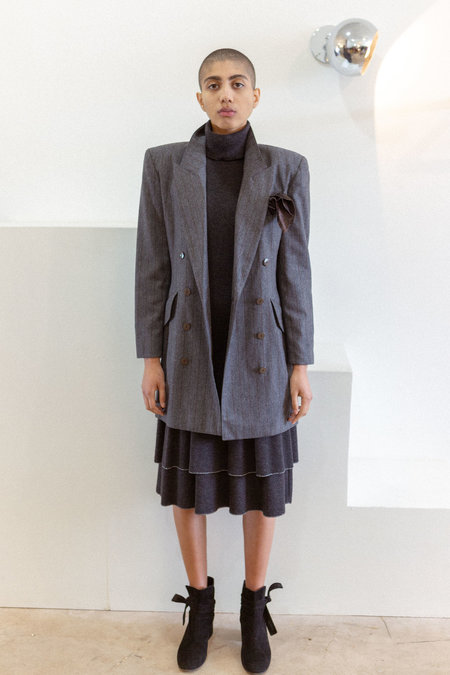 Escada by Margaretha Ley Blazer/Dress - Pinstripe