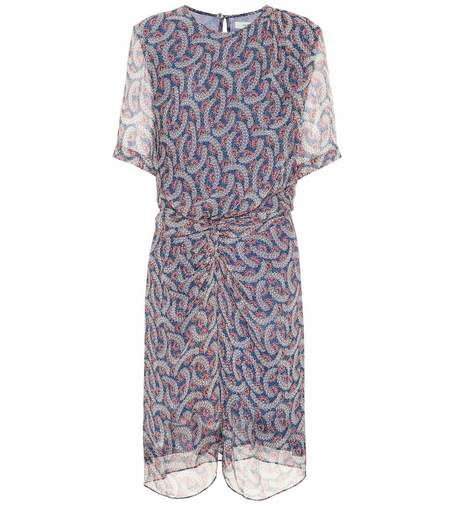 Isabel Marant Etoile Barden Dress - Blue Floral