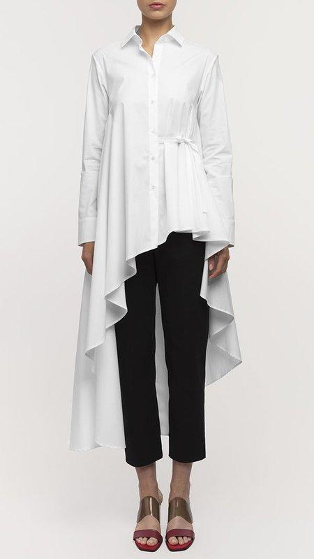 Palmer Harding Super Shirt - White Poplin