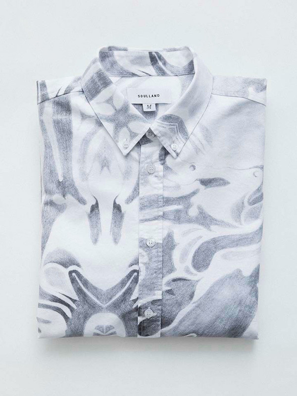Men's Soulland Sine Shirt