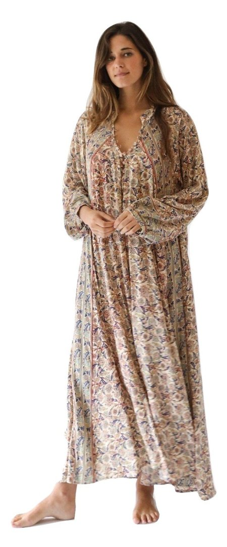 Natalie Martin Fiore Maxi dress - Goa Print