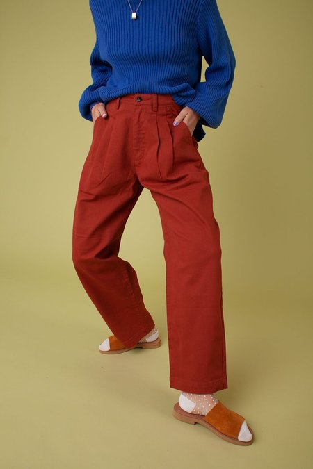 L.F.Markey Classic Slacks - Tobacco