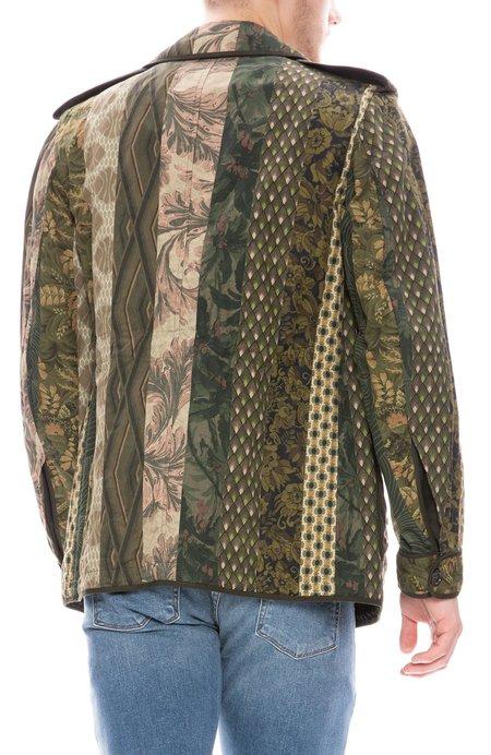 Dries Van Noten Mixed Fabric Pocket Jacket - Pattern 4