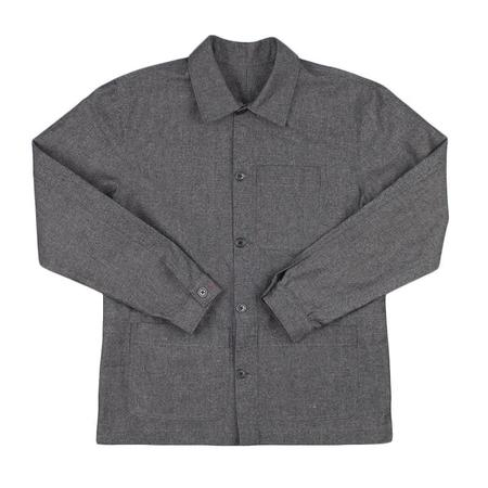 Raleigh Denim Chore Coat - Basalt