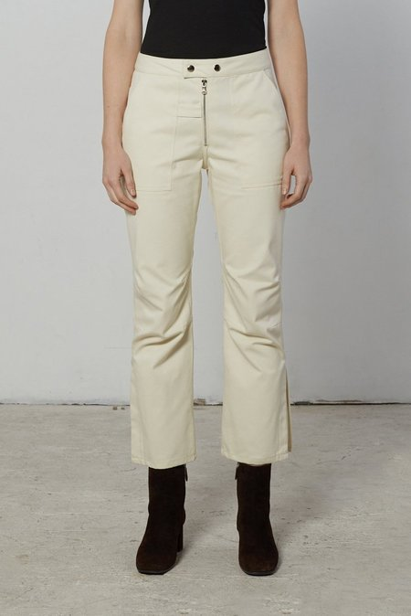 Nomia Moto Pants - Natural