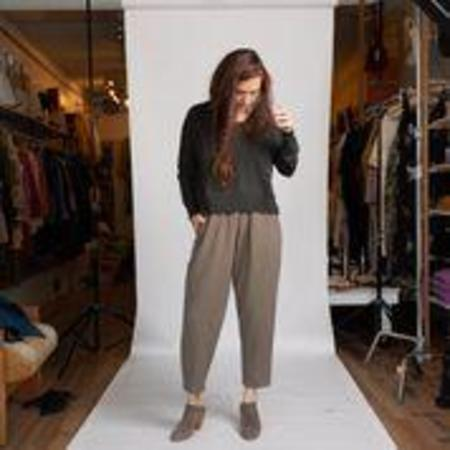 Black Crane Carpenter Pant - Sand