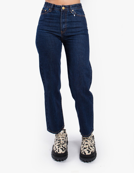Han Kjøbenhavn Cropped Jeans - Medium Blue