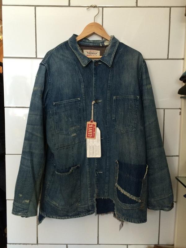 Men's Levis Vintage Clothing 1915 Blanket Lined Sack Coat In Single Jack