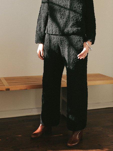 Kordal Textured Trouser - Noir