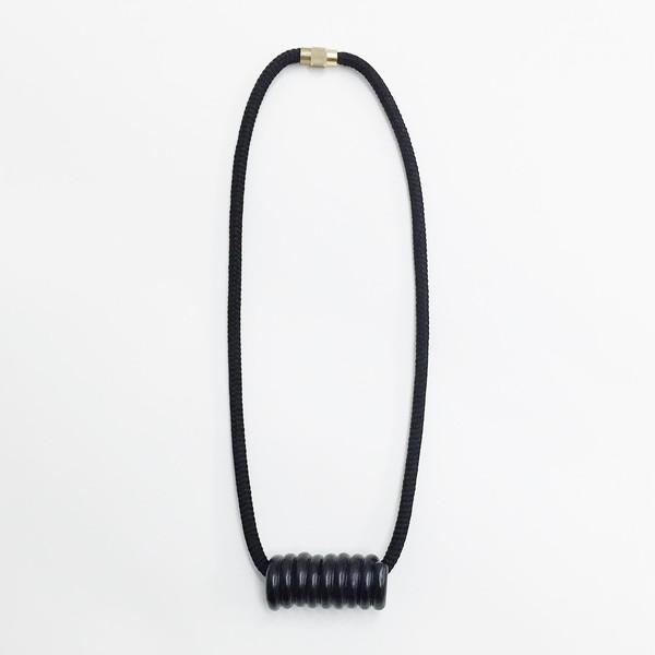 Aubrey Hornor Matte Coil Necklace