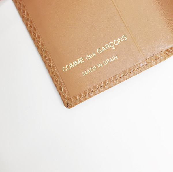 Comme des Garcons - Luxury Group Beige Card Case