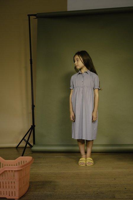 KIDS Repose AMS Dreamy Shirt Dress - Ironlike Bleuish