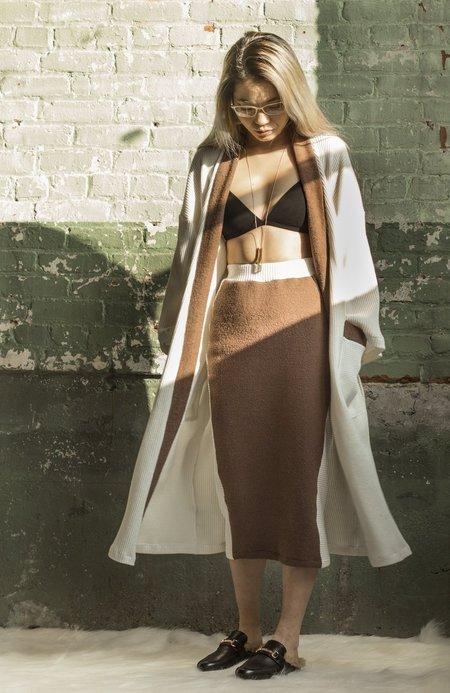 aleur Copenhagen Skirt - Mocha