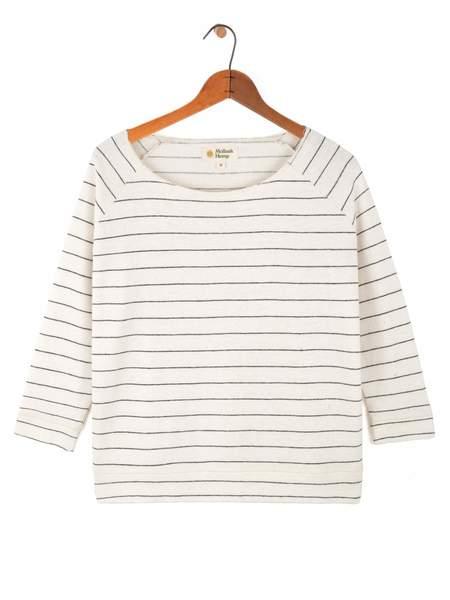04500b20a18 Mollusk Brigitte Sweatshirt - Indigo Stripe