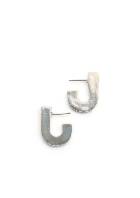 Tiro Tiro Juxta Earrings - Silver