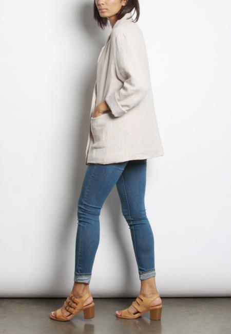 Mod Ref Alexa Linen Blazer