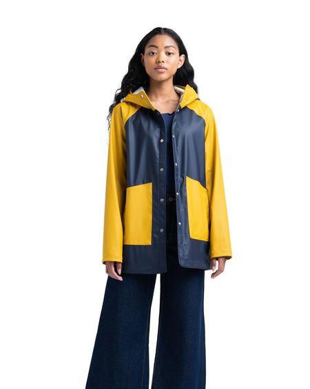 Herschel Supply Company Rainwear Coat - Peacoat/Arrowwood